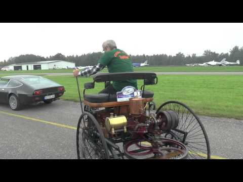 Benz Patent-Motorwagen No.1 in Action