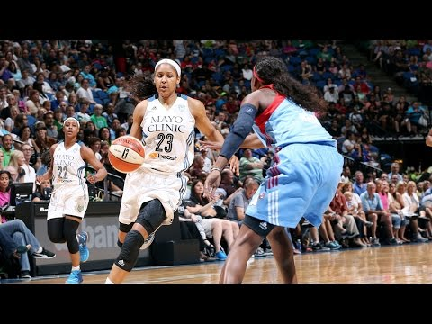 moore - WNBA Superstar, Maya Moore, was unconscious in the Lynx's win vs the Atlanta Dream. Maya went for a career high 48 points while shooting 53% from the field!