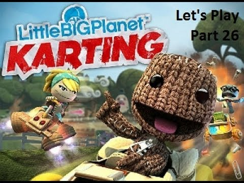Let's Play LittleBigPlanet Karting part 26 - Eve's Asylum - Roots Of All Evil