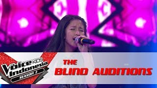 "Video Nadhia ""Risalah Hati"" | The Blind Auditions | The Voice Kids Indonesia Season 2 GTV 2017 MP3, 3GP, MP4, WEBM, AVI, FLV Agustus 2018"