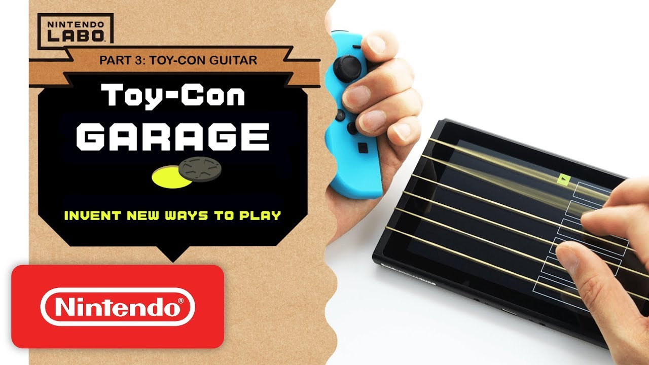 Nintendo Labo – Invent New Ways To Play With Toy-Con Garage – Part 3