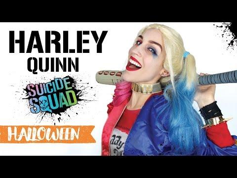 Maquillage d'Halloween : Harley Quinn
