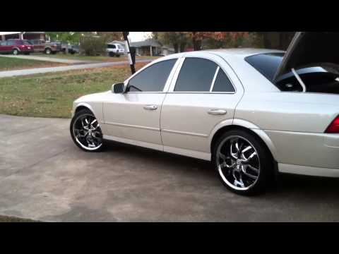 2002 Lincoln LS on 20s
