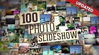 Template 8 : 100 photos en slideshow