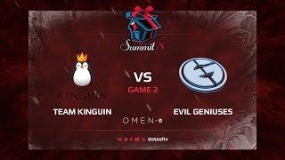 Team Kinguin против Evil Geniuses, Вторая карта, Групповой Этап Dota Summit 8