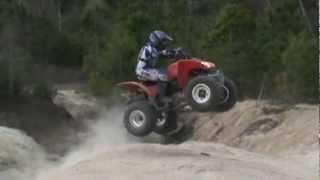 10. Nick G. Riding Honda TRX250X Expertly