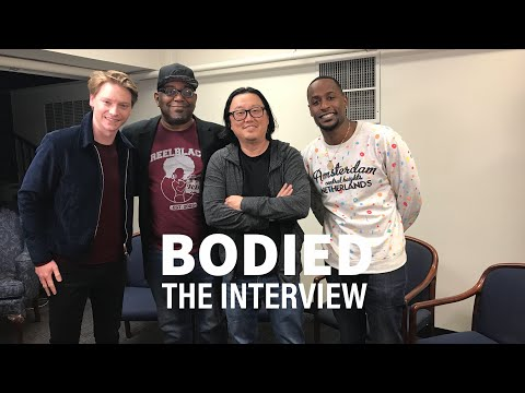 Bodied - Joseph Kahn, Calum Worthy & Jackie Long [Interview]