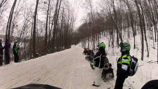 7. Fly-by on a 2007 Arctic Cat F1000 w/ D&D barker can