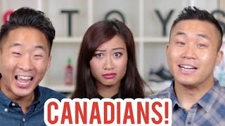 ASIAN CANADIANS VS ASIANS AMERICANS | Fung Bros