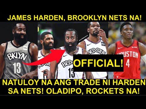 BREAKING! James Harden, BROOKLYN NETS NA! Bagong BIG 3 sa NBA! Irving KD Harden | Oladipo ROCKETS NA