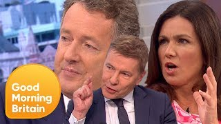 Subscribe now for more! http://bit.ly/1NbomQaAs BBC salaries are revealed, Piers and Susanna, along with Kevin Maguire and Andrew Pierce, slam the BBC over gender pay gap. Broadcast on 19/07/2017Like, follow and subscribe to Good Morning Britain!The Good Morning Britain YouTube channel delivers you the news that you're waking up to in the morning. From exclusive interviews with some of the biggest names in politics and showbiz to heartwarming human interest stories and unmissable watch again moments. Join Susanna Reid, Piers Morgan, Ben Shephard, Kate Garraway, Charlotte Hawkins and Sean Fletcher every weekday on ITV from 6am.Website: http://bit.ly/1GsZuhaYouTube: http://bit.ly/1Ecy0g1Facebook: http://on.fb.me/1HEDRMbTwitter: http://bit.ly/1xdLqU3http://www.itv.com