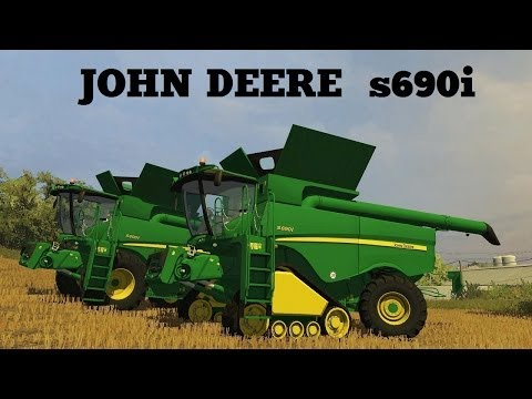 Farming Simulator 2013 Presentazione John deere S690i By Big Boss Modding