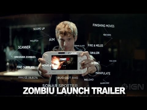 Zombi U Launch Trailer Explains Wii U Features