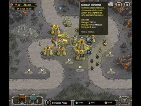 Kingdom Rush - Level 10 (Campaign) - The Wastes