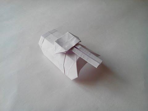 Своими руками из бумаги танки