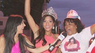 ¡Francisca Lachapel fue recibida en República Dominicana como si fuera el Papa!