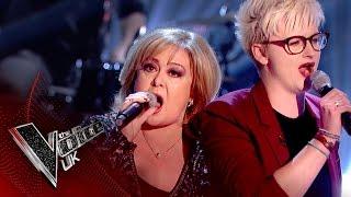 Liza Baker vs. Georgie Braggins - 'Something' | The Voice UK 2017