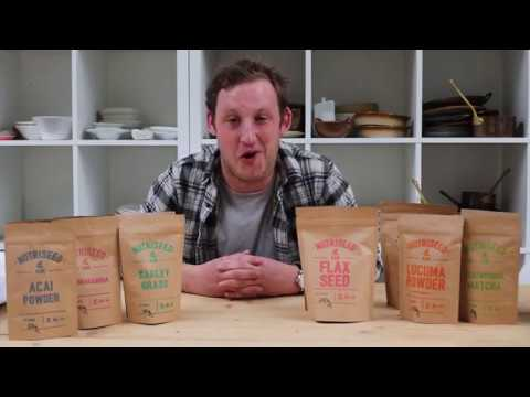 Matcha Tea (Ceremonial Grade), Organic, Nutriseed (50g)