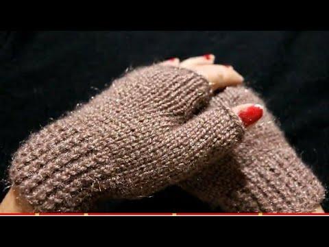 Knitting Gloves Fingerless बूने मिनटों में।