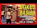 Clases de boxeo: Entrenamiento básico en la Pera cielo tierra o Pera loca - Jab y esquive