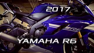10. 2017 Yamaha YZF-R6 First Ride Review