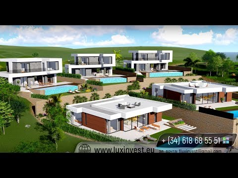 New modern houses and apartments in one of the best areas of the Costa Blanca – Finestrat