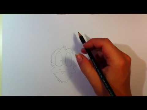 Donald Duck zeichnen lernen / Donald Duck malen