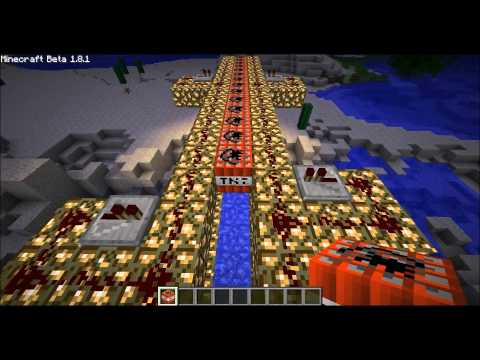 Super cañon en Minecraft