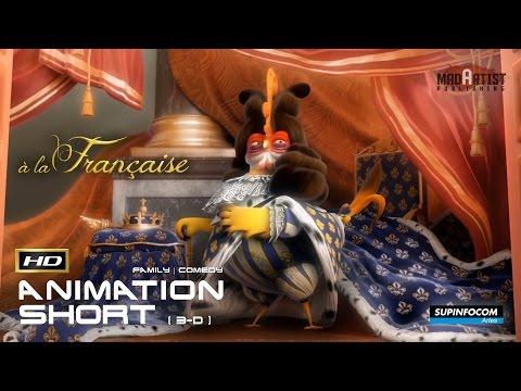 A La Française | 3D Award winning Animation - Chicks in Versailles! (Supinfocom)