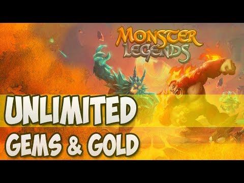 monster legends mod apk download free