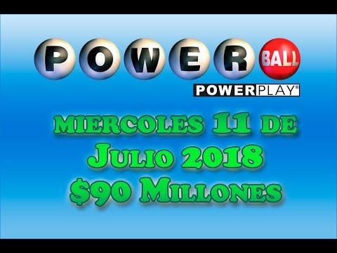Resultados Powerball 11de Julio 2018 $90 Millones de dolares Powerball en Español