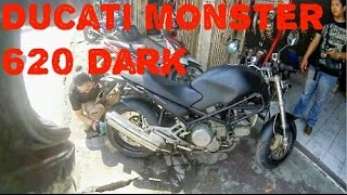6. Fakhrihp Motovlog - Bukan Review Ducati Monster 620 Dark (First Ride)