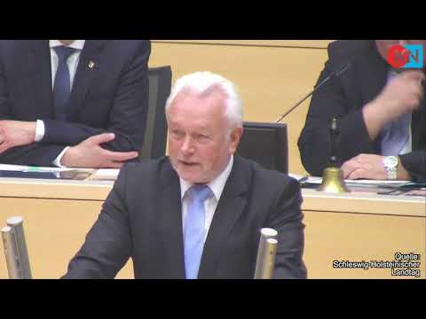 Landtags-Abschied: Wolfgang Kubicki (FDP) den Träne ...