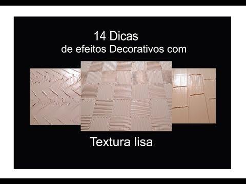 14 Efeitos texturizados