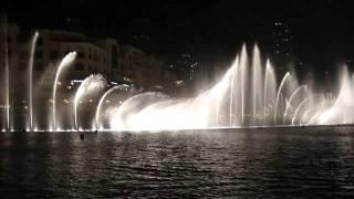 Самый красивый и дорогой в мире фонтан - Бурдж Дубай