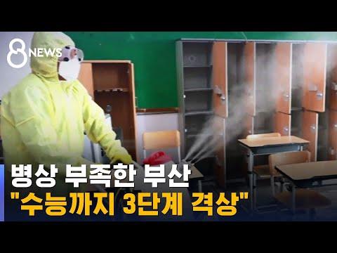 """부산, 병상마저 부족하다…""""수능까지 3단계 격상"""" / SBS"""