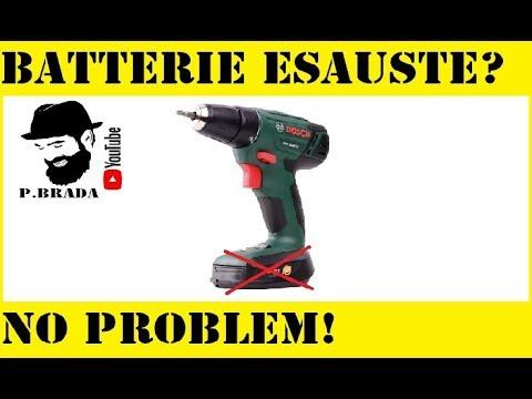 Soluzione Avvitatore con batterie esauste By Paolo Brada DIY