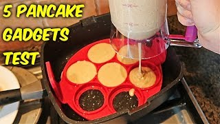 5 Pancake Gadgets put to the Test