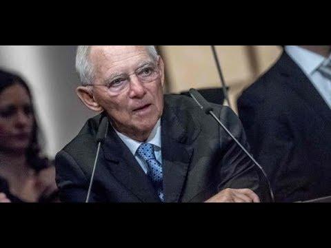 Bundestagspräsident Wolfgang Schäuble: