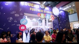 Sureworks Education & Further Studies Fair Mar 2019 highlights video