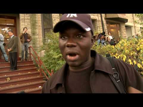 African BBC reporter views election