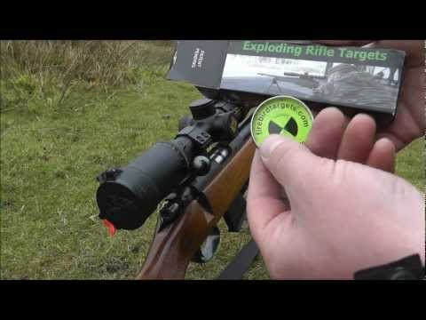 .17 HMR flat shooting at explosive targets - Part 2