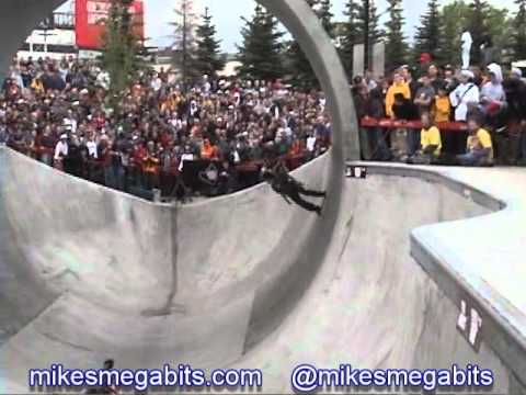 Tony Hawk's Gigantic Skatepark Tour - Calgary Millenium Skatepark June 4th 2001