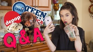 Ask Amanda! Modeling, Selling Clothes & My Puppy ❤️ by Amanda Steele