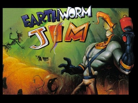 Serge Chaos - Buttville (The Descent) (Earthworm Jim Cover), Genesis/Sega Megadrive Cover