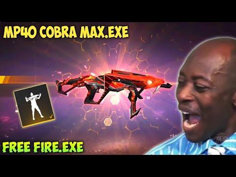 FREE FIRE.EXE - MP40 PREDATORY COBRA MAX EXE ( ff exe, ff lucu, ff ngakak )
