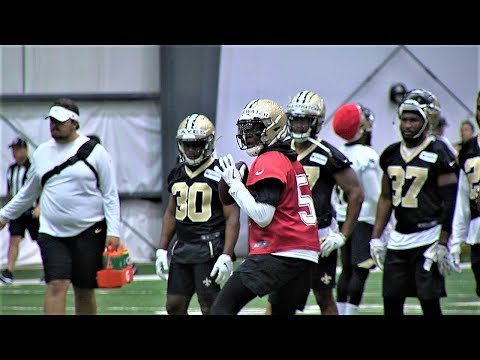 Teddy Bridgewater Earns Reps in Brees's Absence