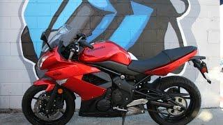 8. 2011 Kawasaki Ninja 650 Motorcycle For Sale