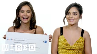 Video Nina Dobrev, Vanessa Hudgens & the 'Dog Days' Cast Answer the Web's Most Searched Questions | WIRED MP3, 3GP, MP4, WEBM, AVI, FLV Mei 2019