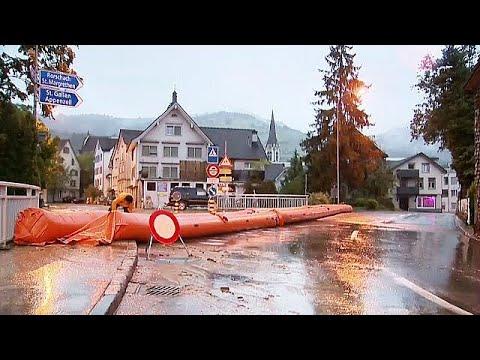 Συνεχίζονται οι βροχοπτώσεις στην Ελβετία